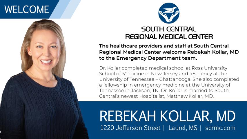 Welcome Rebekah Kollar, MD | Emergency Services | South